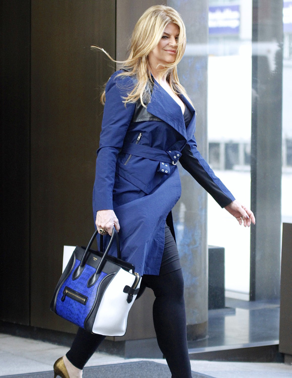 Celebs and Celine Luggage Totes 7
