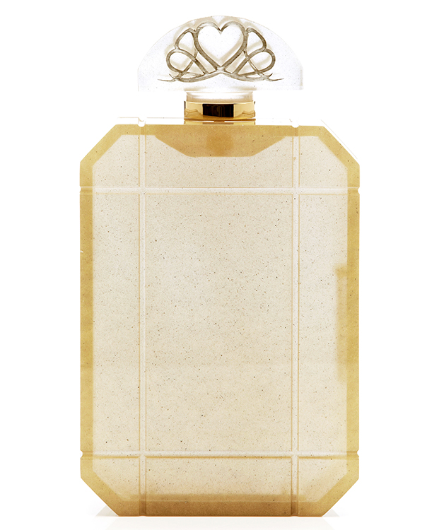 Charlotte Olympia Gold Scent Clutch