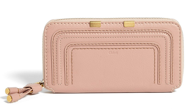 Chloe Marcie Long Zip Wallet