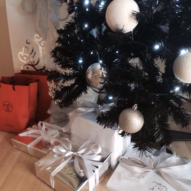 Christmas Tree with Hermes