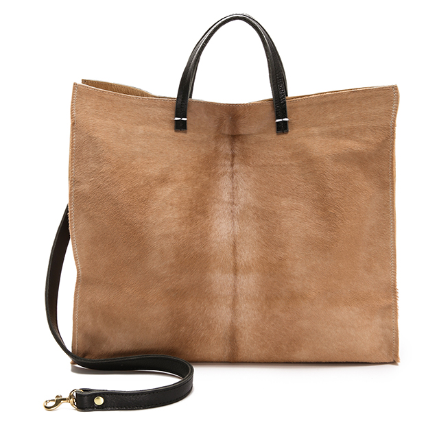 Clare Vivier Calf Hair Simple Tote