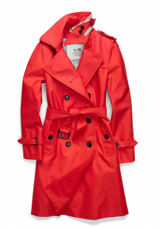 Coach Classic Long Trench