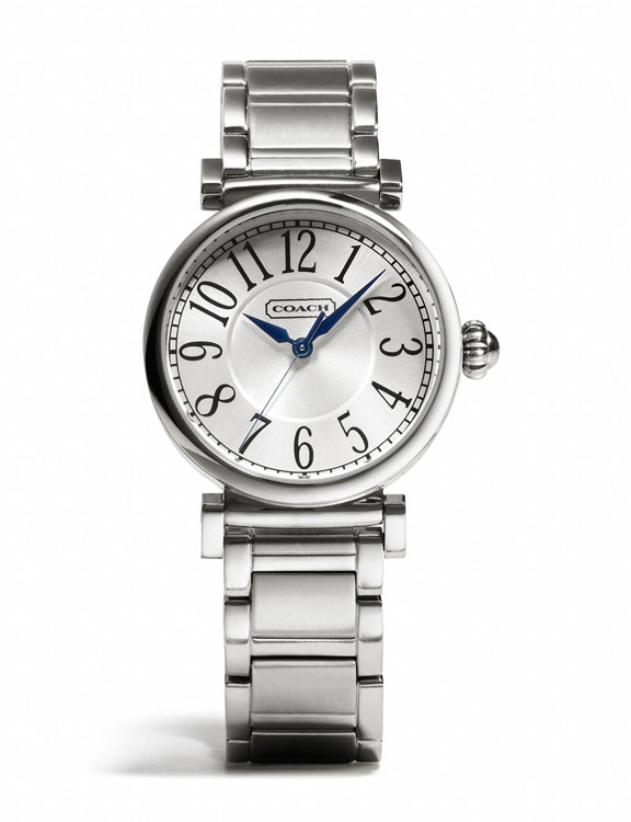 Coach Madison Stainless Steel Bracelet Watch