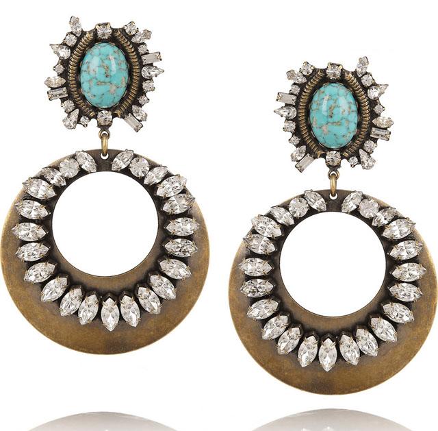 DANNIJO Sade Swarovski Earrings