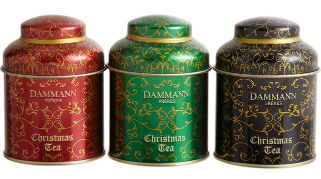 Dammann Christmas Tea Set