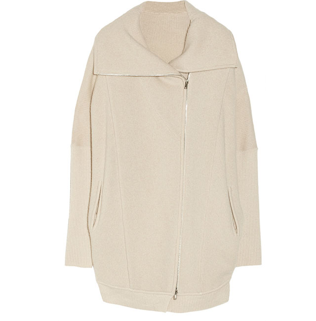 Donna Karan Oversized Cashmere Cardi Coat