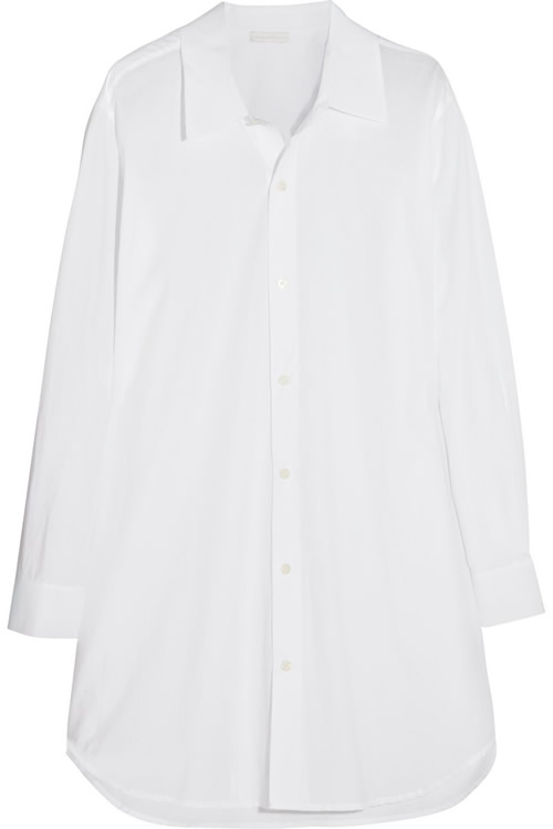 Donna Karan Oversized Cotton Shirt