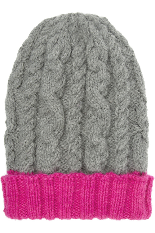 Eugenia Kim Jill Cable Knit Alpaca Hat
