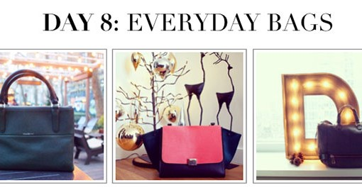 #12DaysofHandbags – Day 8: Everyday Bags