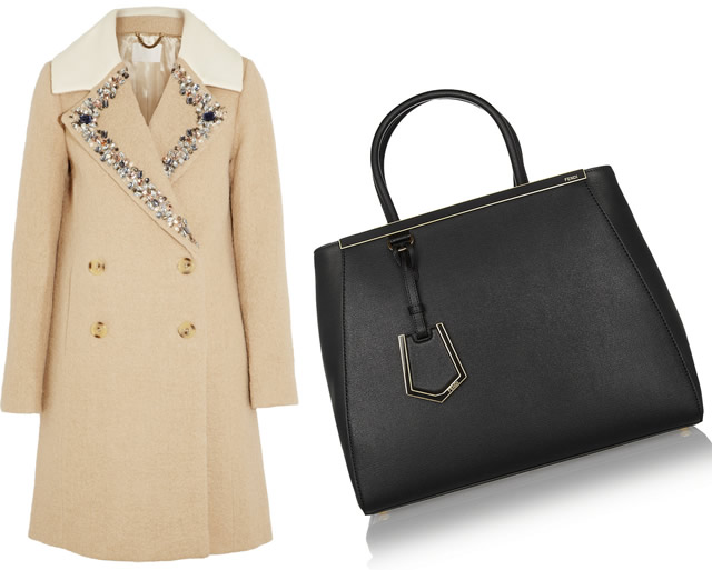 Fendi 2Jours JCrew Coat
