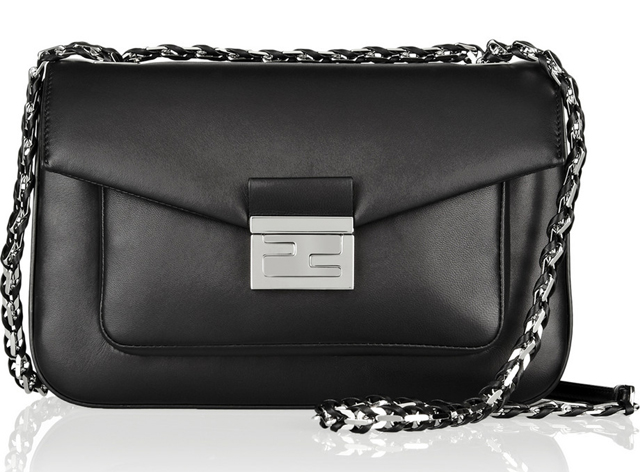 Fendi Be Baguette Shoulder Bag