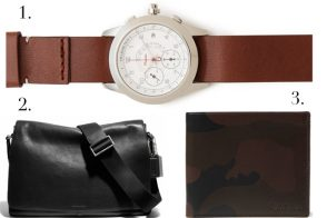 Man Bag Monday: Three Great Gifts Under $400 for Your Dude