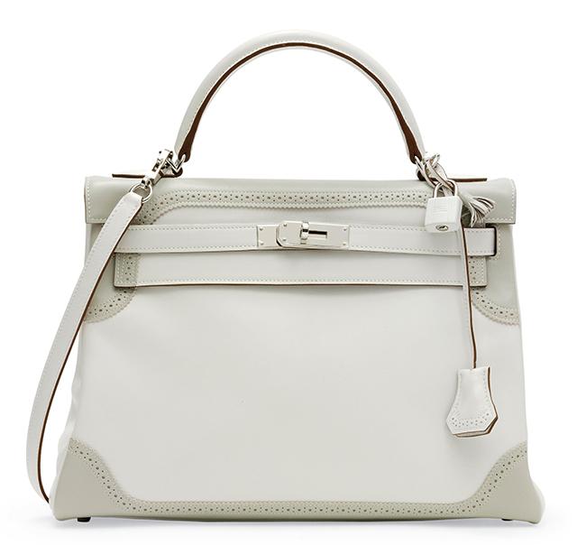Hermes Kelly Ghillies Bag