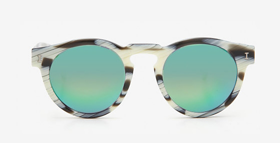 Illesteva Mirrored Lense Sunglasses