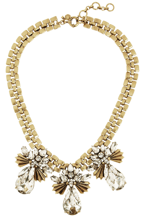 J.Crew Crystal Necklace