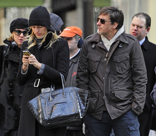 Karolina Kurkova carries a black Celine bag in NYC (1)