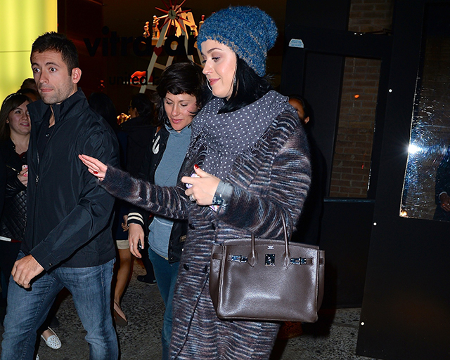 Katy Perry carries an Hermes Birkin in NYC (5)