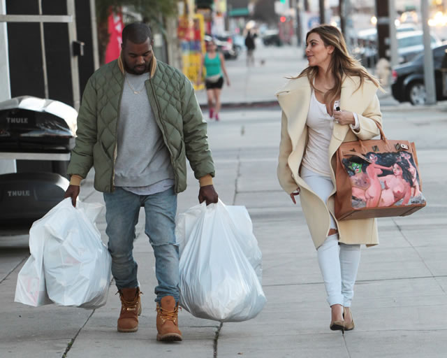 Kim Kardashian Gets A Custom Painted Herm 232 S Hac Bag From