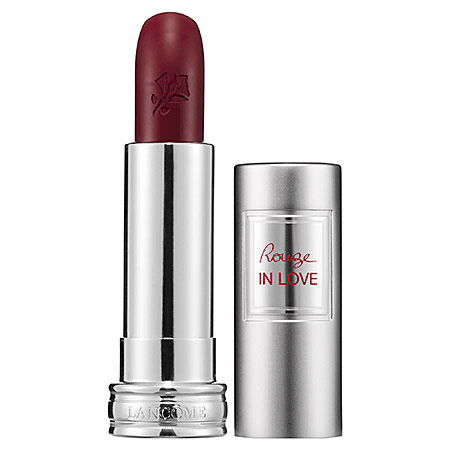 Lancome Rouge in Love Lipstick Fiery Attitude