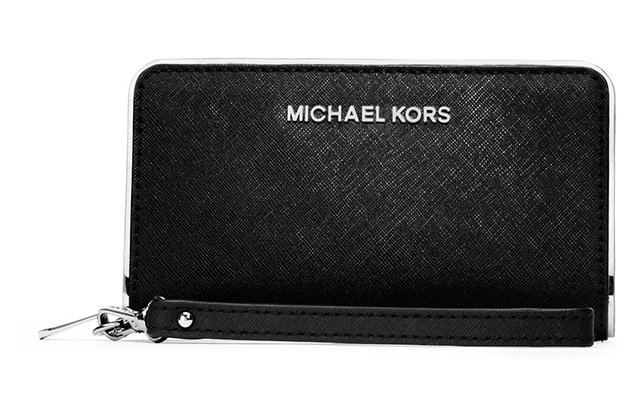 e8e889241b90 MICHAEL Michael Kors Jet Set Travel Specchio Large Multifunction Phone Case