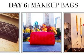 #12DaysofHandbags Day 6: Makeup Bags