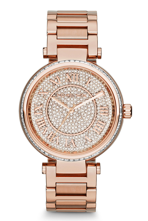 Michael Kors Skylar Two Hand Glitz Watch