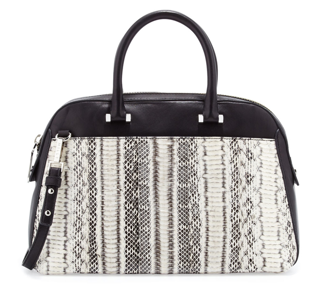 Milly Mercer Snakeskin Satchel