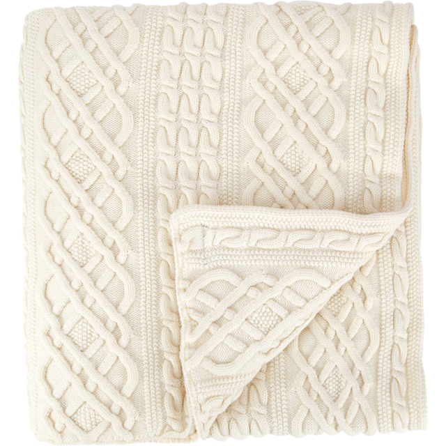 Morgan Collection Isle of Aran Throw