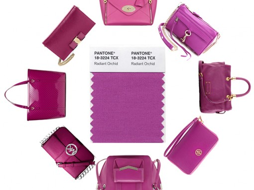 """You're Going to Want a """"Radiant Orchid"""" Bag in 2014 Because Pantone Says So"""