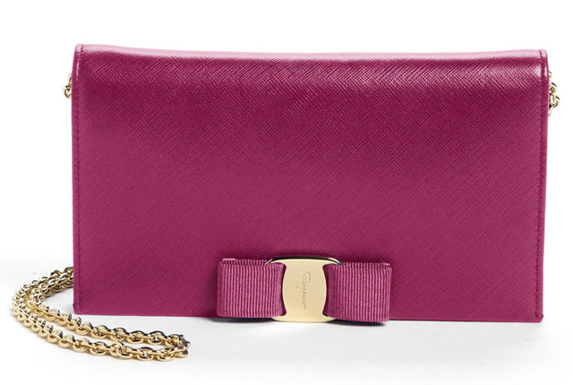 Salvatore Ferragamo Miss Vara Clutch Wallet