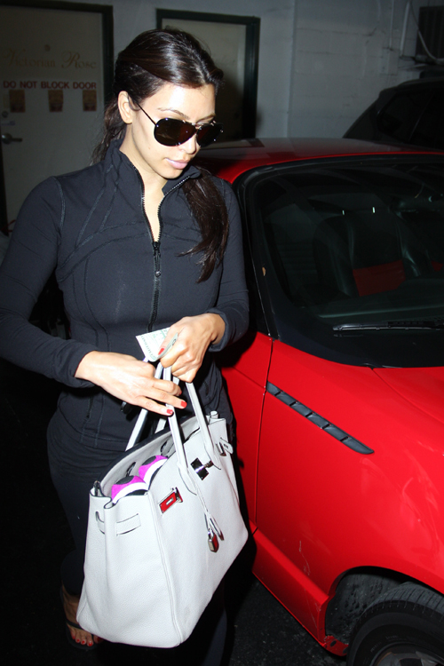 The Many Bags of Kim Kardashian 1