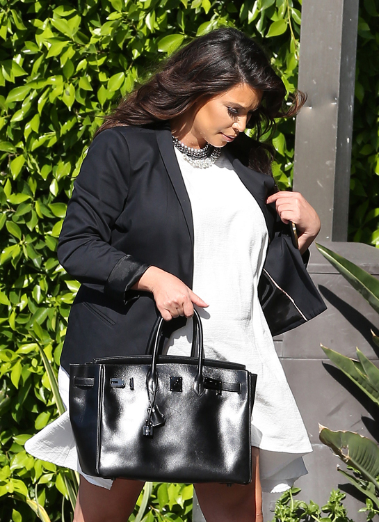 hermes wallets replica - The Many (Many) Bags of Kim Kardashian - PurseBlog