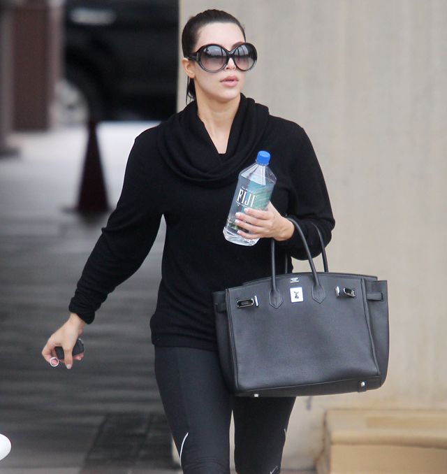 the many  many  bags of kim kardashian