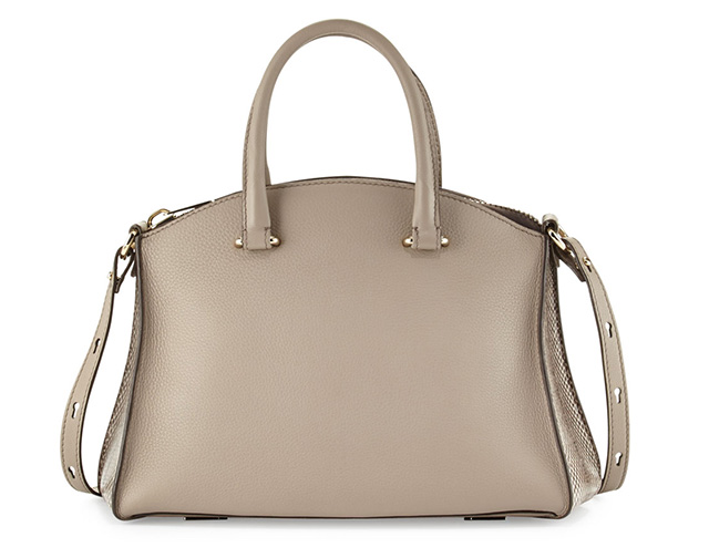 VBH Trevi 32 Snake and Leather Satchel