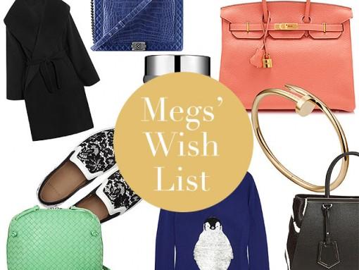 Megs' Christmas Wish List 2013