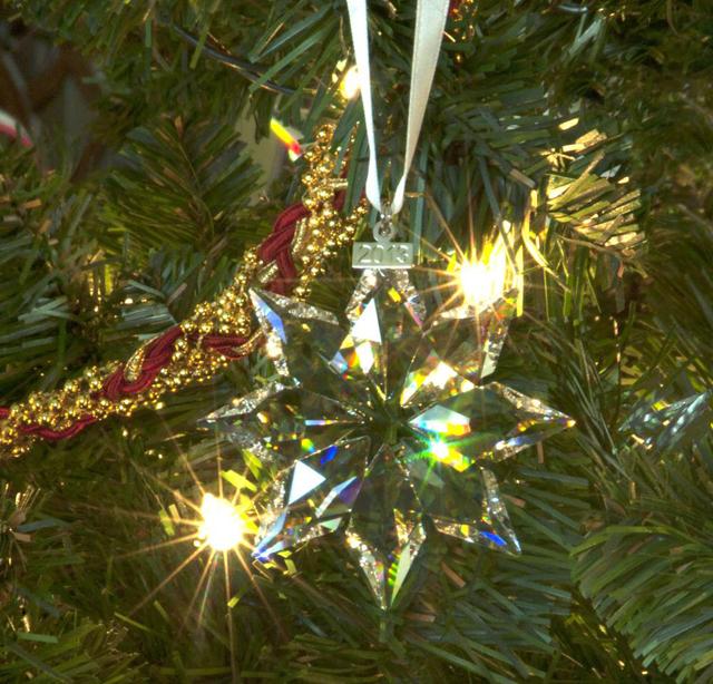 2013 Crystal Star Ornament