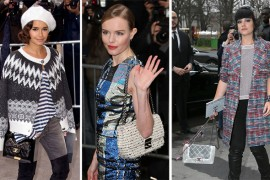 Check Out the Bags Celebs Carried to the Paris Couture Shows