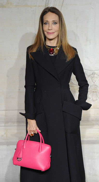 Celebrity Handbags at Paris Couture Week-12
