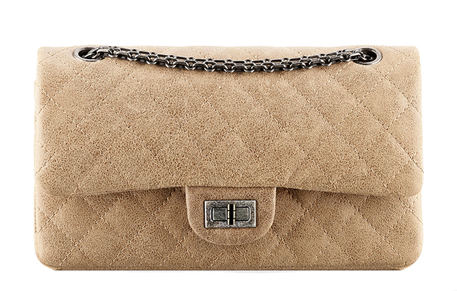 Chanel Aged Goatskin 2.55 Reissue Flap Bag