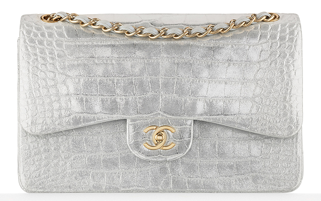 Chanel Alligator Classic Flap Bag