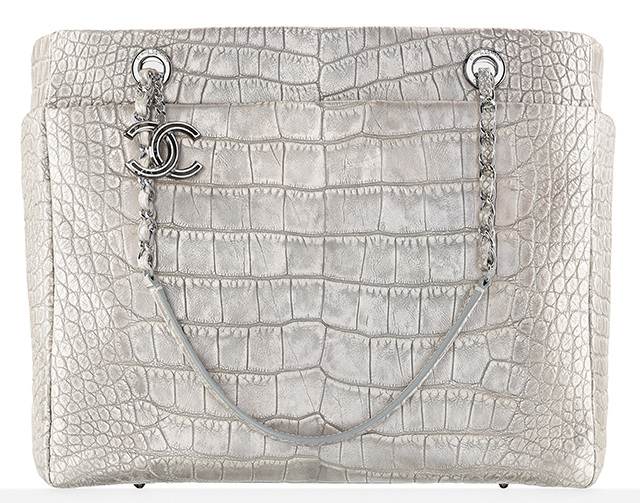 Chanel Alligator Shopping Tote