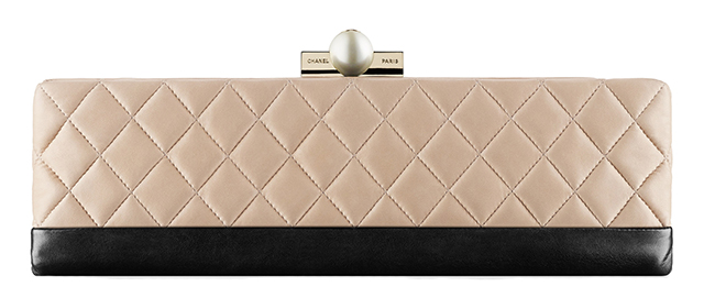 Chanel Baguette Minaudiere Nude