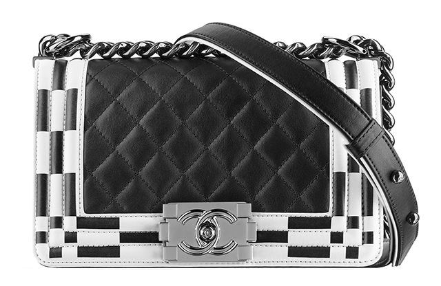 Chanel Checkerboard Boy Bag