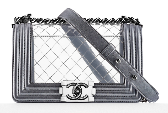 Chanel Clear Boy Bag