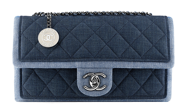 Chanel Denim Medallion Flap Bag