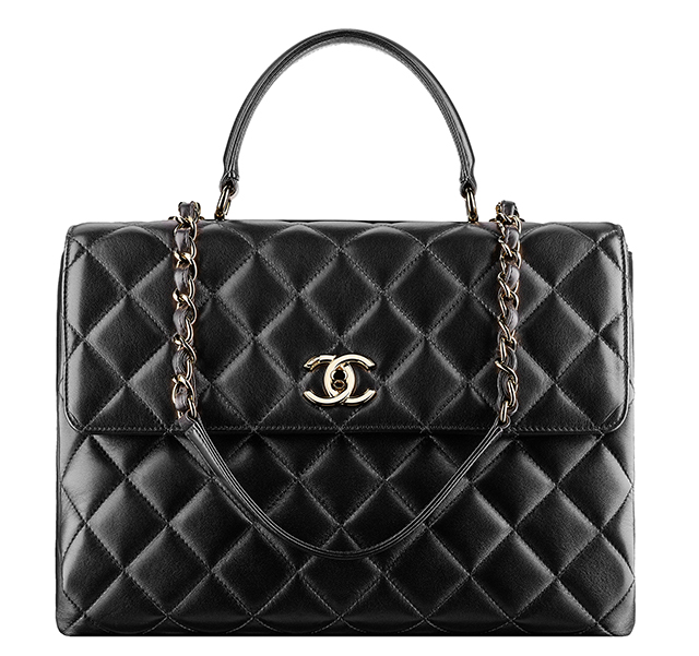 Chanel Flap Satchel Black
