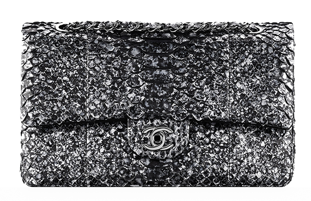 Chanel Python Flap Bag