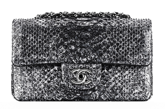 Chanel Small Python Flap Bag
