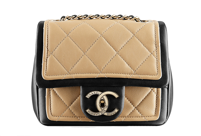 Chanel Two-Tone Small Flap Bag