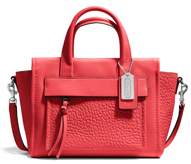 Coach Bleecker Mini Pocket Carryall Love Red